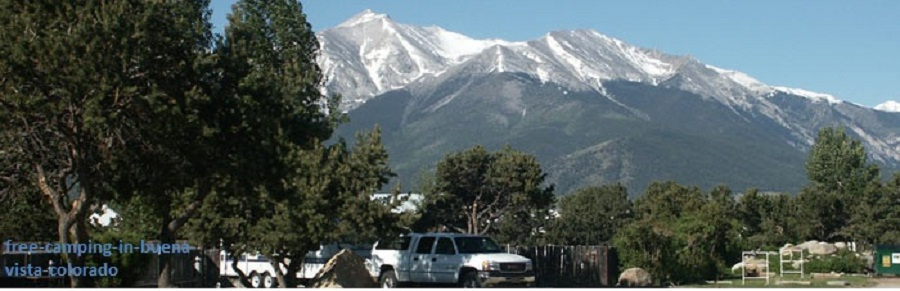 free camping in buena vista colorado