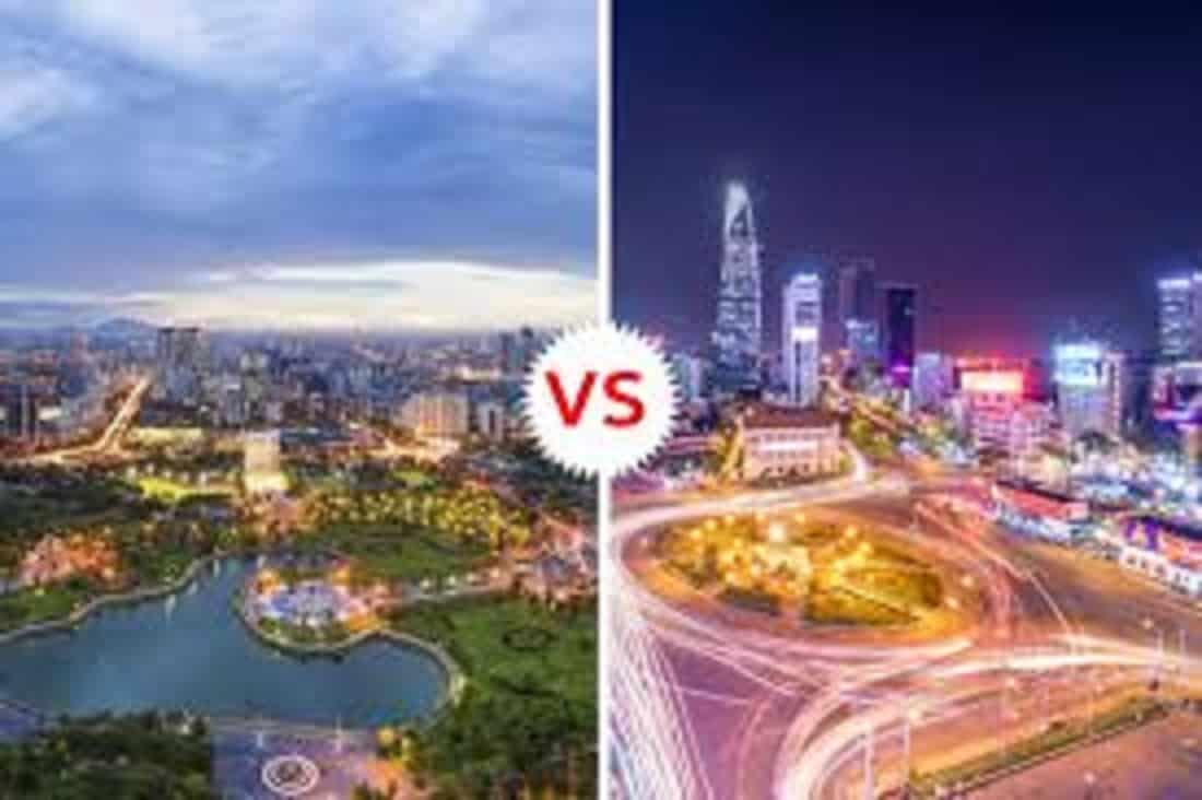 Hanoi vs Saigon